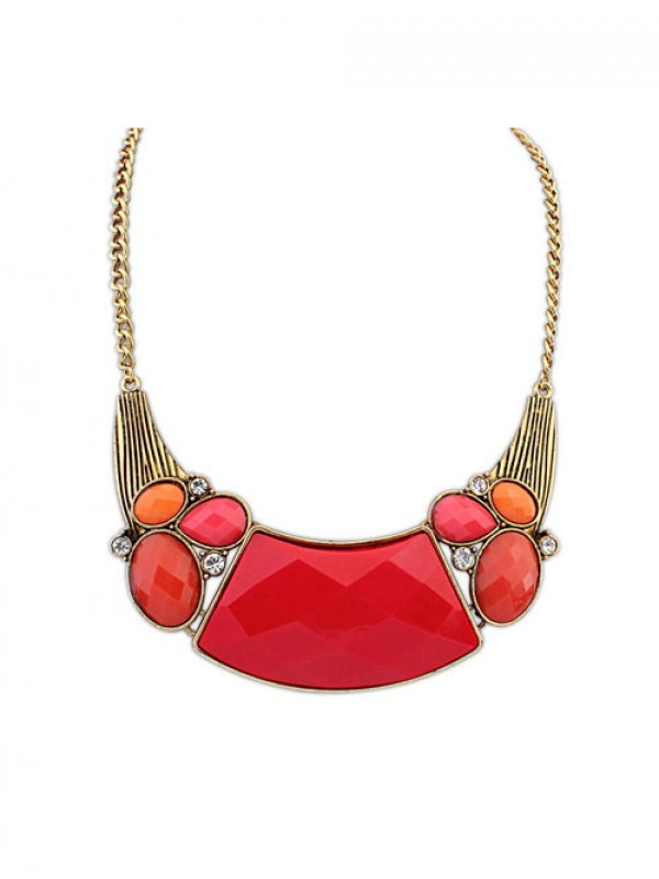 Occident New Retro Exotic Style Necklace