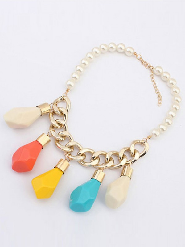 Occident Trendy Street shooting Personality Necklace