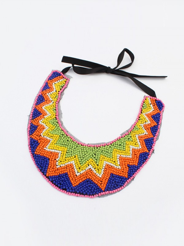 Occident Exotic Personality Retro Necklace-16