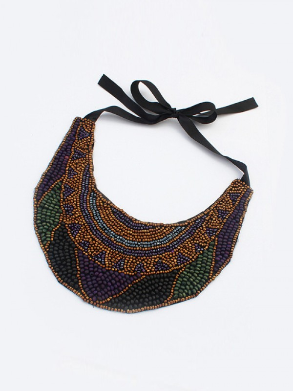 Occident Exotic Personality Retro Necklace-21