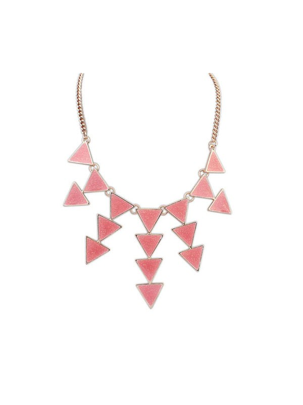 Occident Personality Triangle Punk Retro Necklace