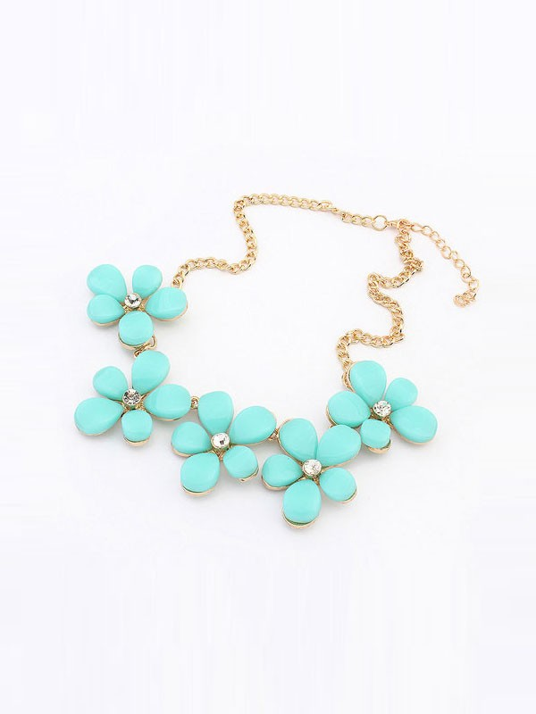 Occident Fresh Floret Sweet Necklace