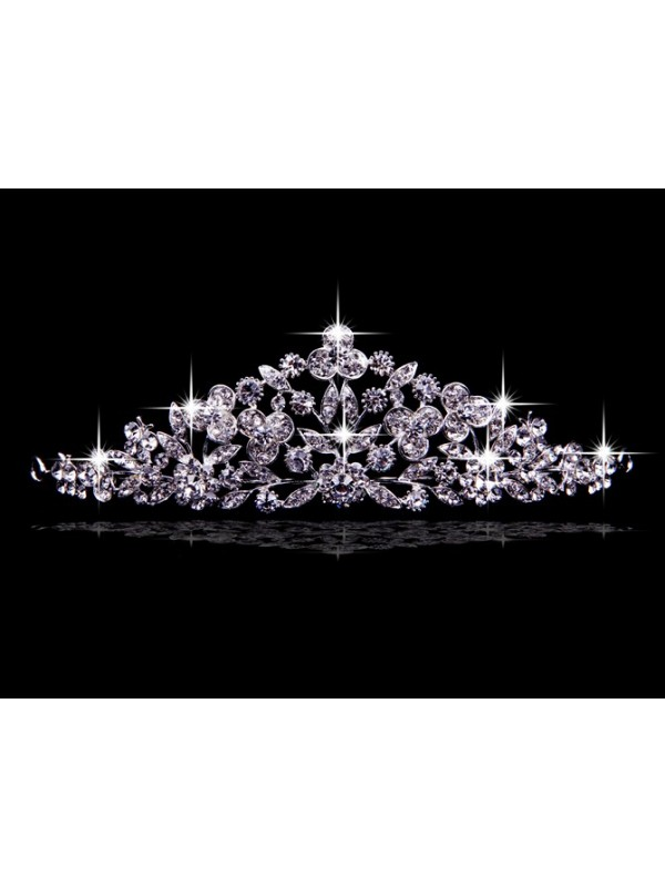 Elegant Czech Rhinestones Wedding Headpieces
