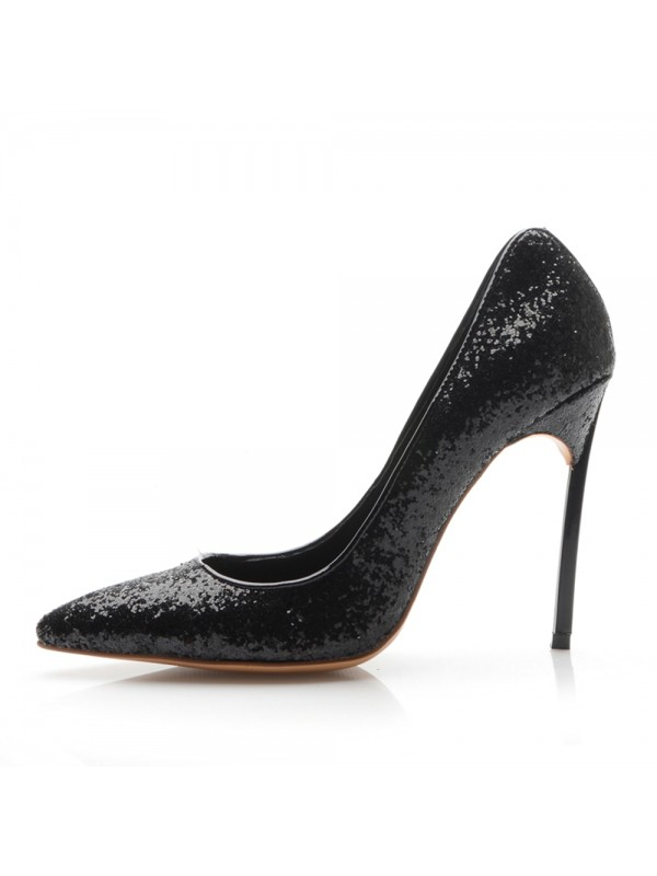 Women's Closed Toe Stiletto Heel Office Shoes