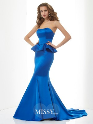 Trumpet/Mermaid Sweetheart Satin Dresses