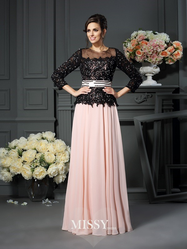 A-Line/Princess Sweetheart Floor-Length Chiffon Mother of the Bride Dresses