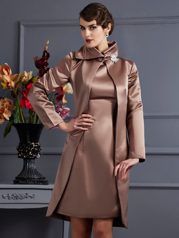 Satin Long Sleeves Special Occasion Wrap