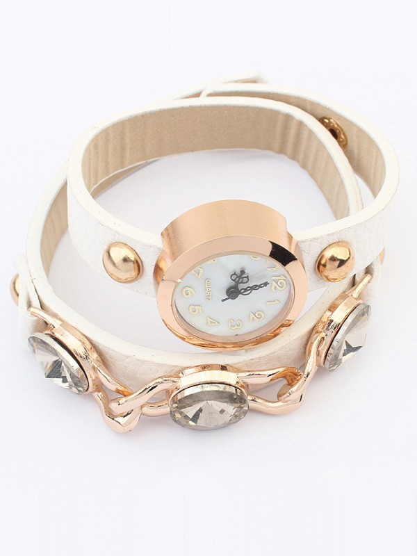 Occident Stylish Trendy Retro Bracelet Watch
