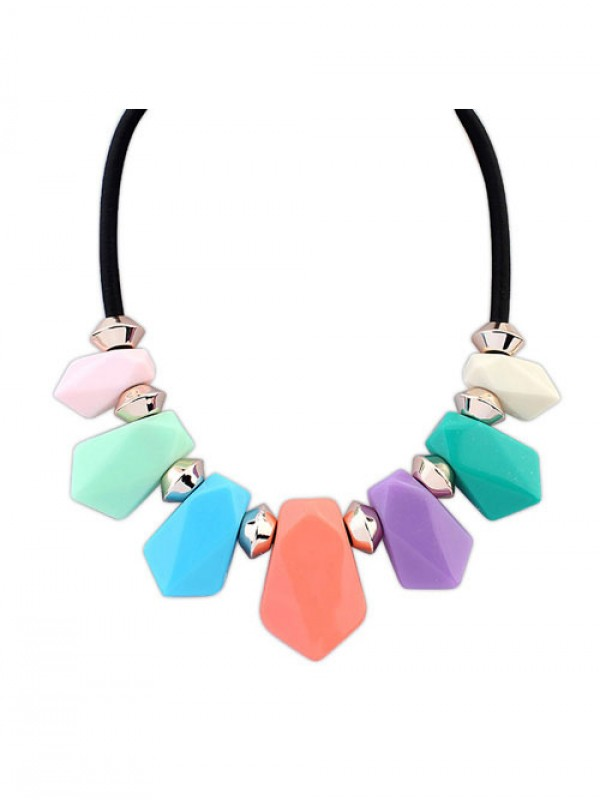 Occident Street shooting all-match Geometry Temperament Necklace