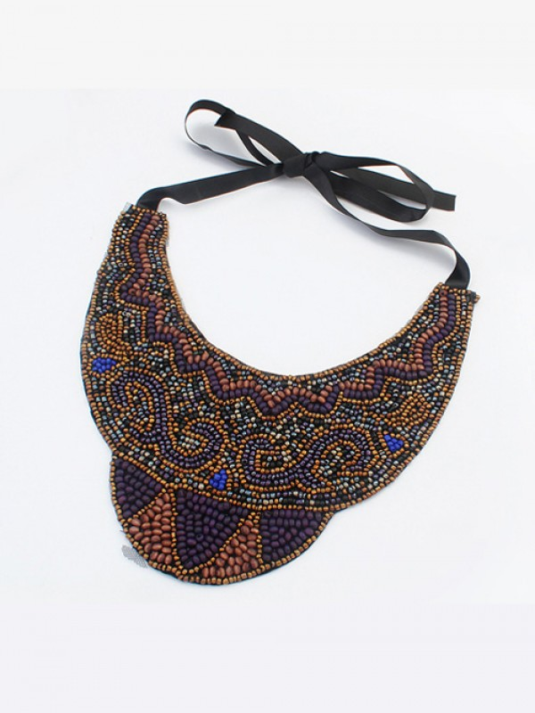Occident Exotic Personality Retro Necklace-12