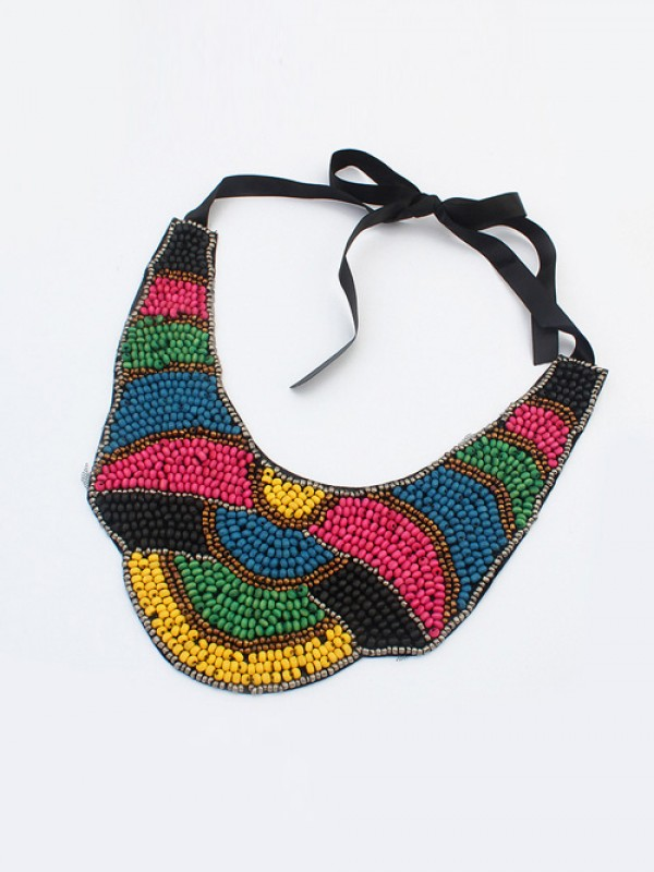 Occident Exotic Personality Retro Necklace-13